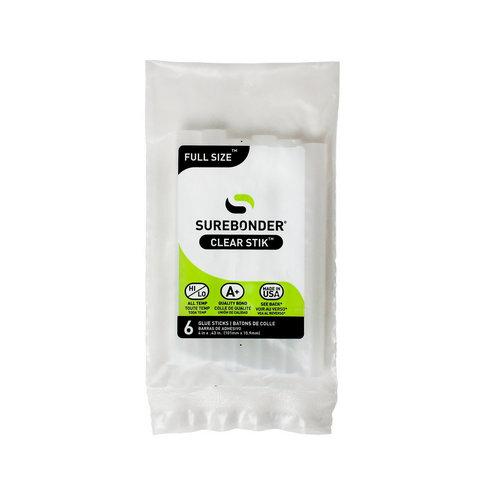 All Temperature Full Size Hot Glue Sticks - 6-pack