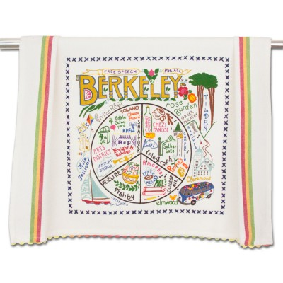 Catstudio City of Berkeley Dish Towel
