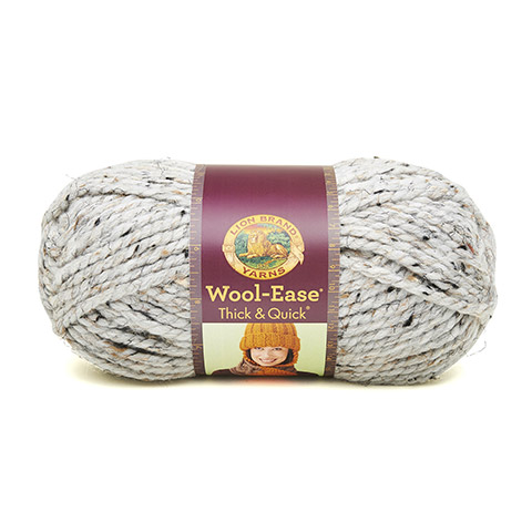 Wool-Ease Thick & Quick, Grey Marble
