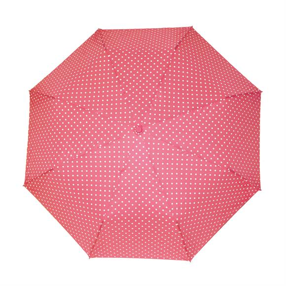 "Storm Duds Fashion Polka Dot 42"" Compact Umbrella"