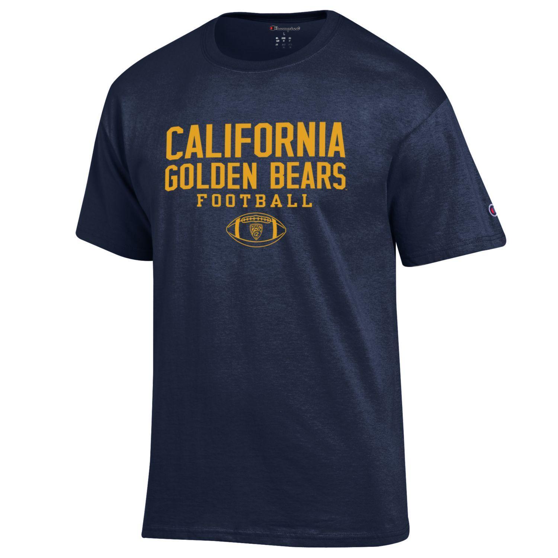 Cal Bears Champion Sport Tee-Football