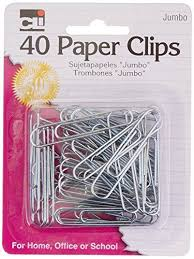 Paper Clips, 40-pack