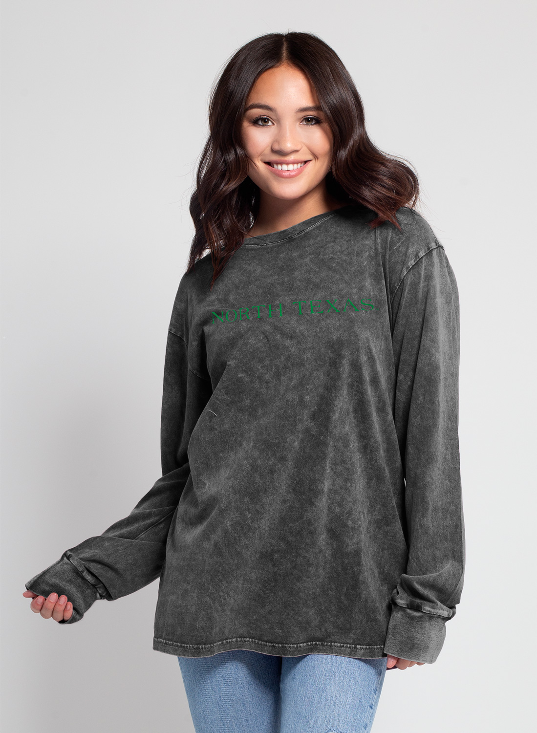 MINERAL WASH EVERYBODY LONG SLEEVE