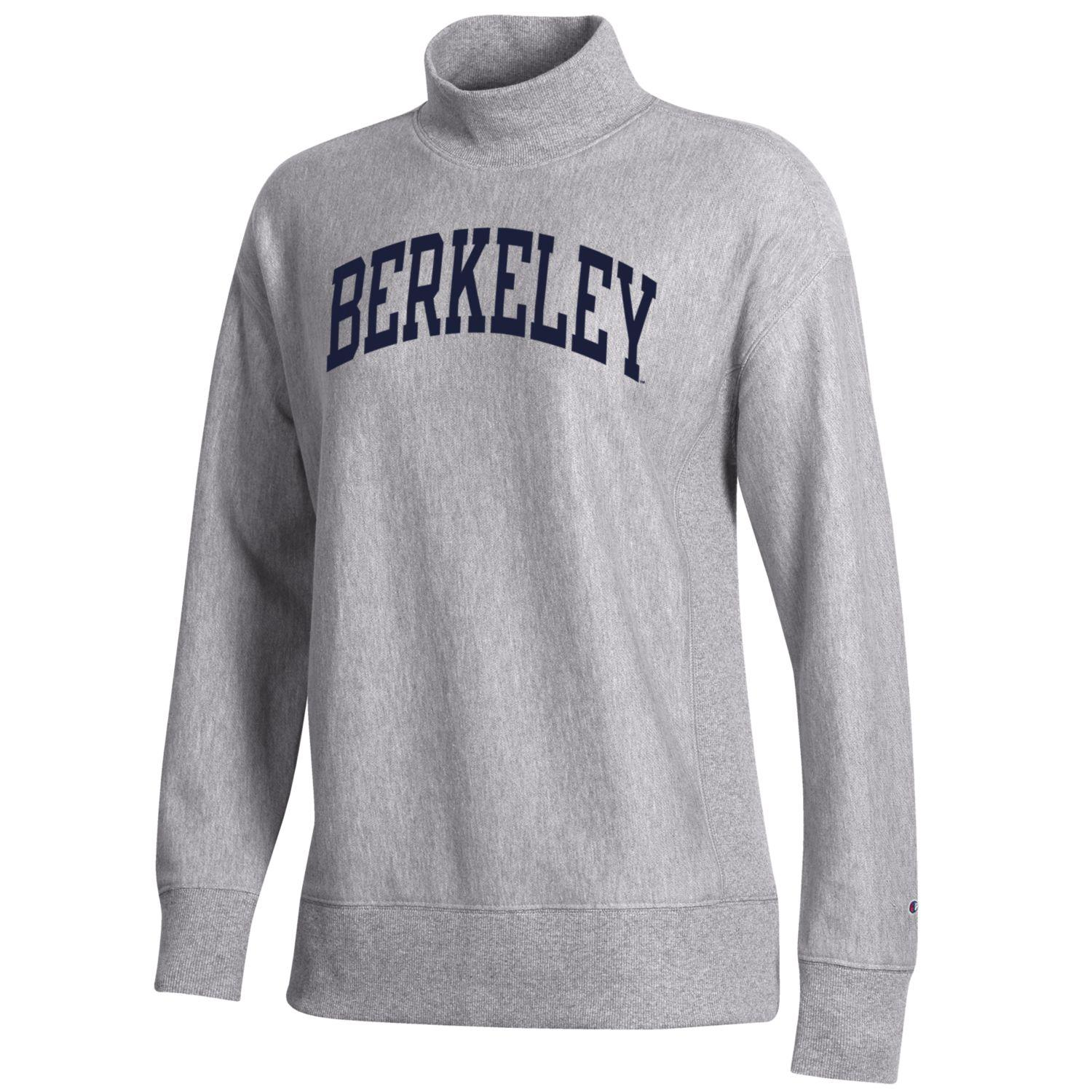 Cal Bears Women's Reverse Weave French Terry Mock