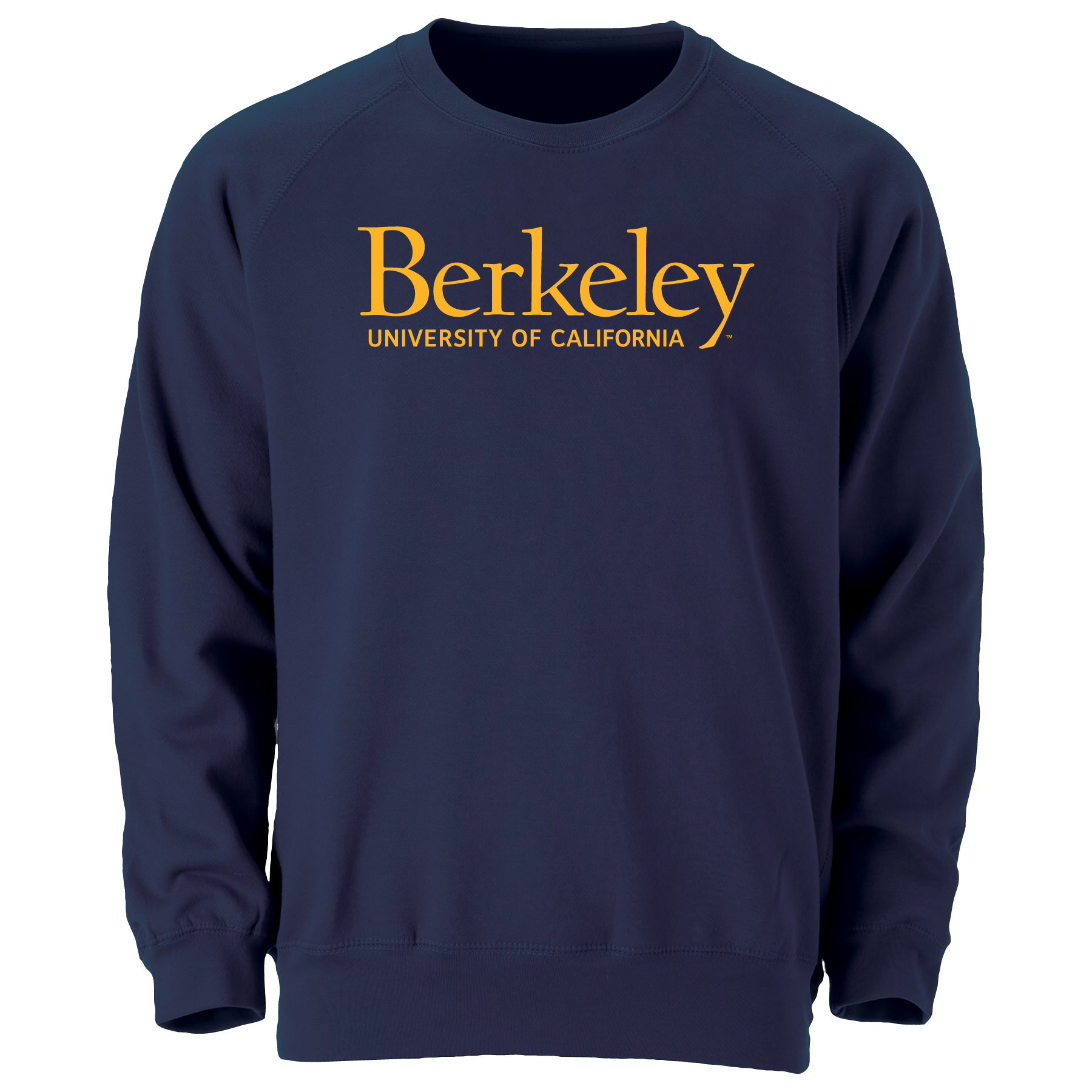 Cal Bears Men's Benchmark Crew UC Berkeley Logo