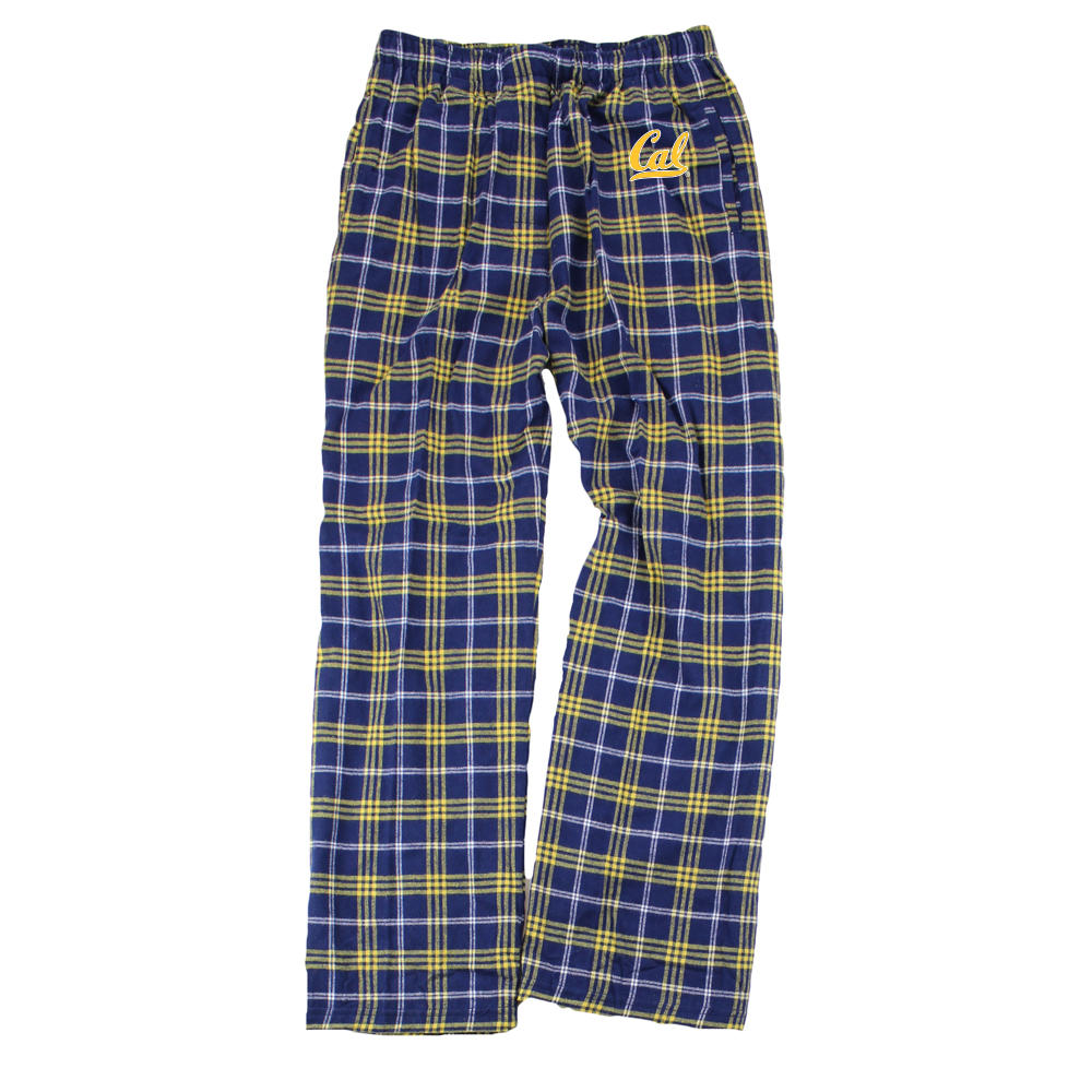 Men's Boxercraft Flannel Pant Cal Logo