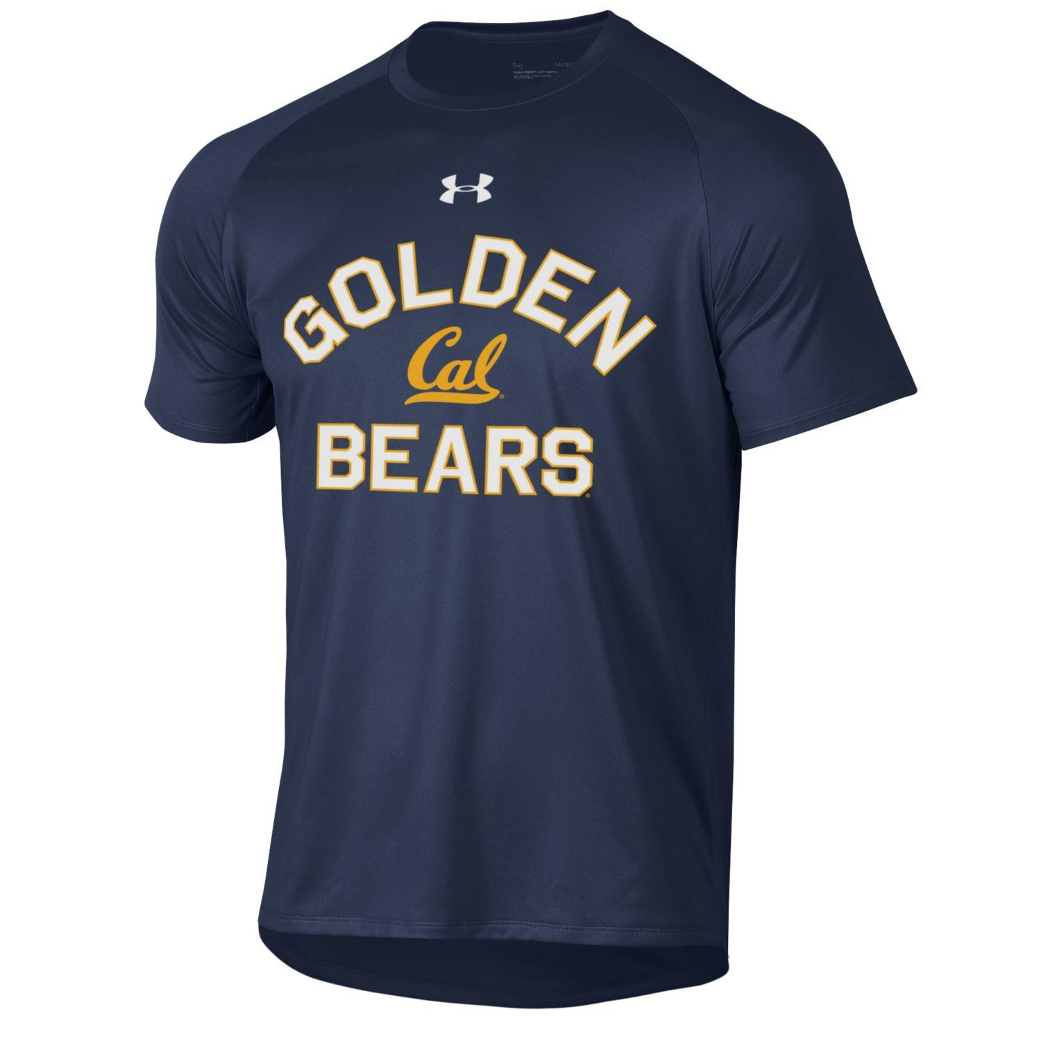 Men's SS Tech Tee 2.0 by Under Armour Golden Bears