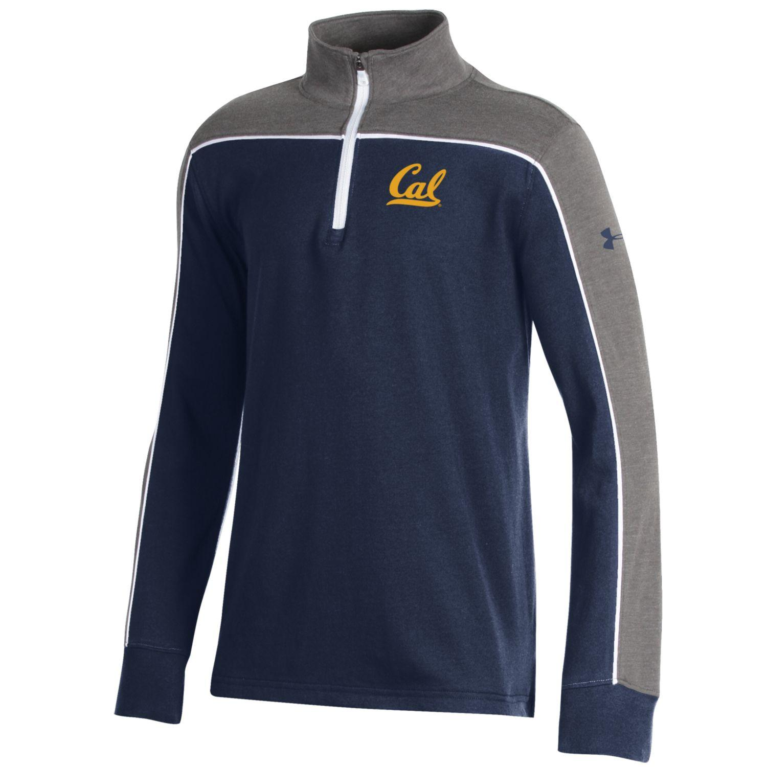 Youth Charged Cotton Tricolor QZ Under Armour Cal Logo