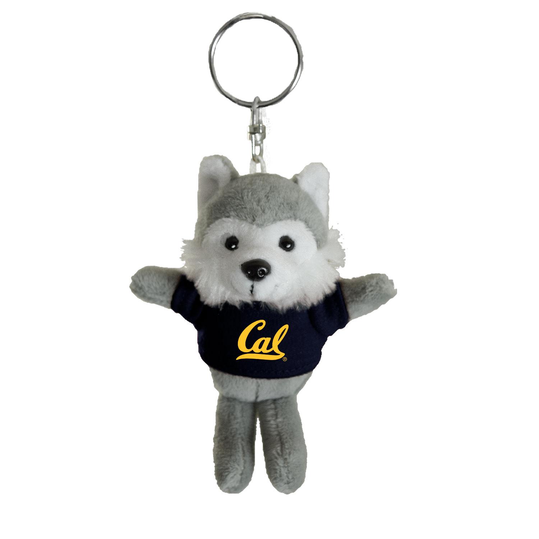 Cal Bears Mascot Factory Husky Keychain