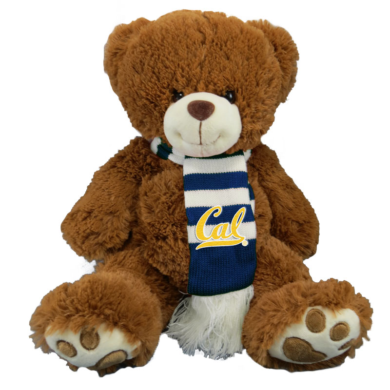 University of California Berkeley SquishEm Brown Bear