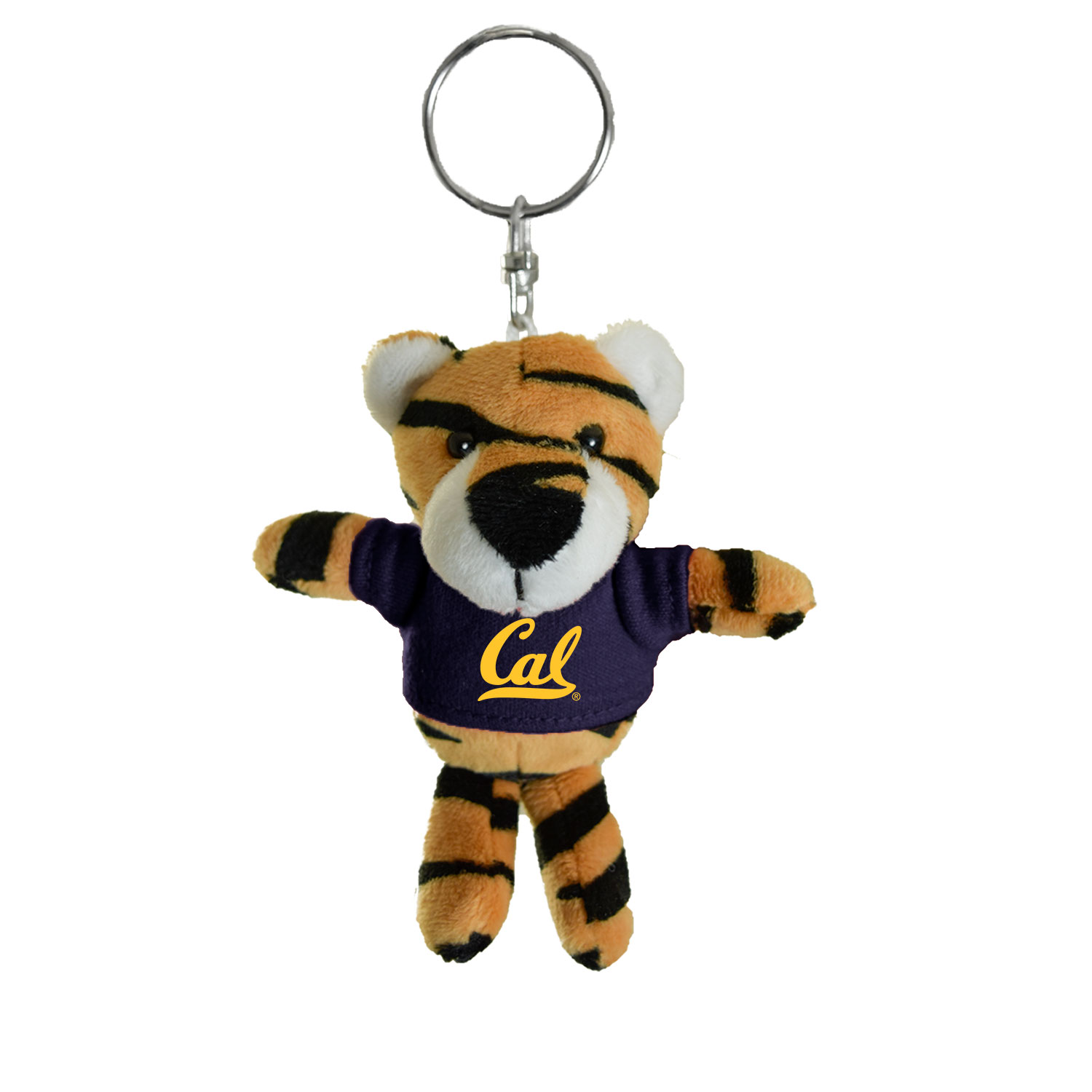 Cal Bears Mascot Factory Tiger Keychain