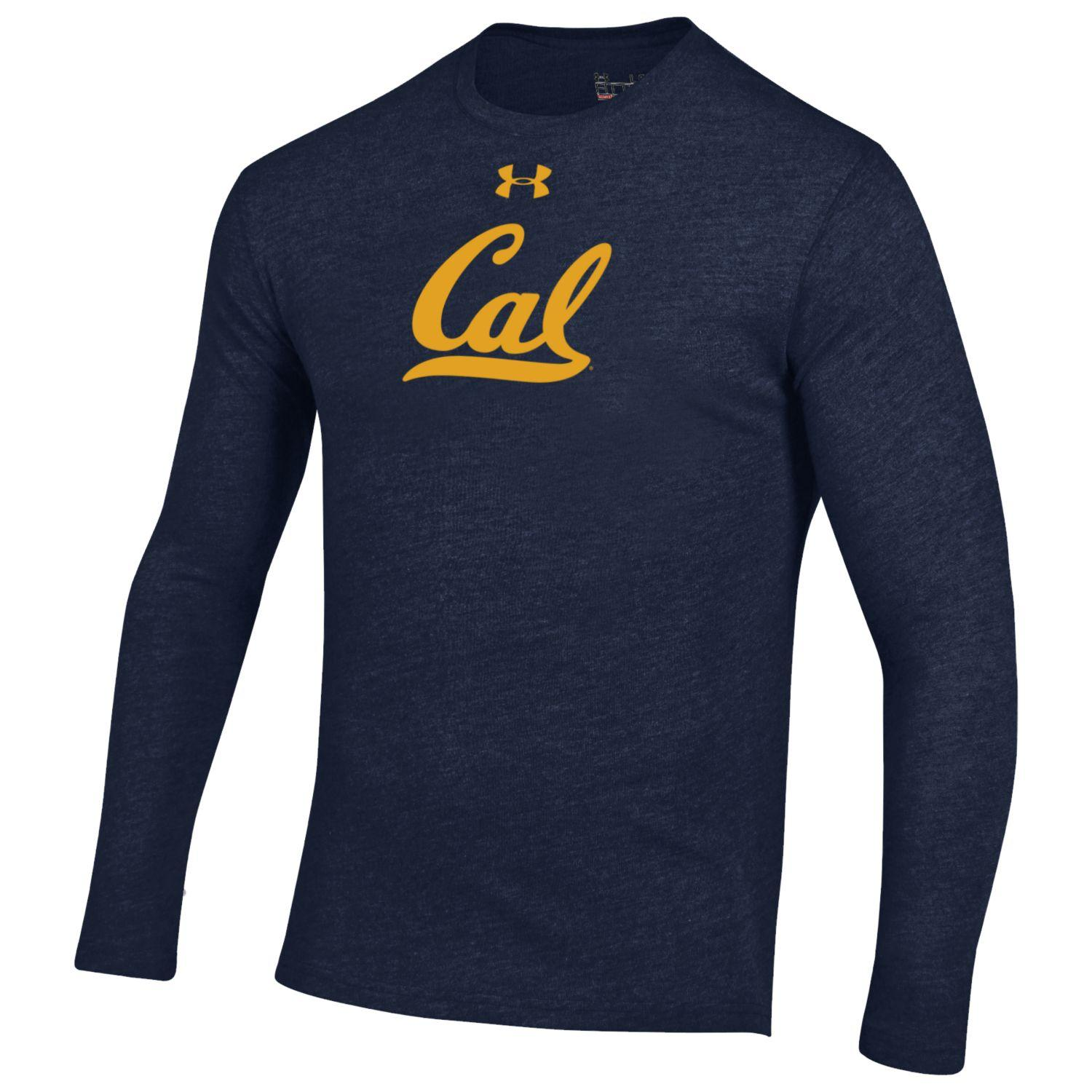 Men's LS Triblend Tee Under Armour Cal Logo