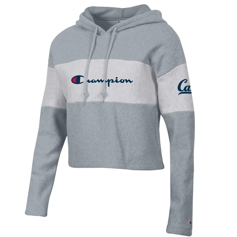 Cal Bears Women's Champion Reverse Weave Crop Hood