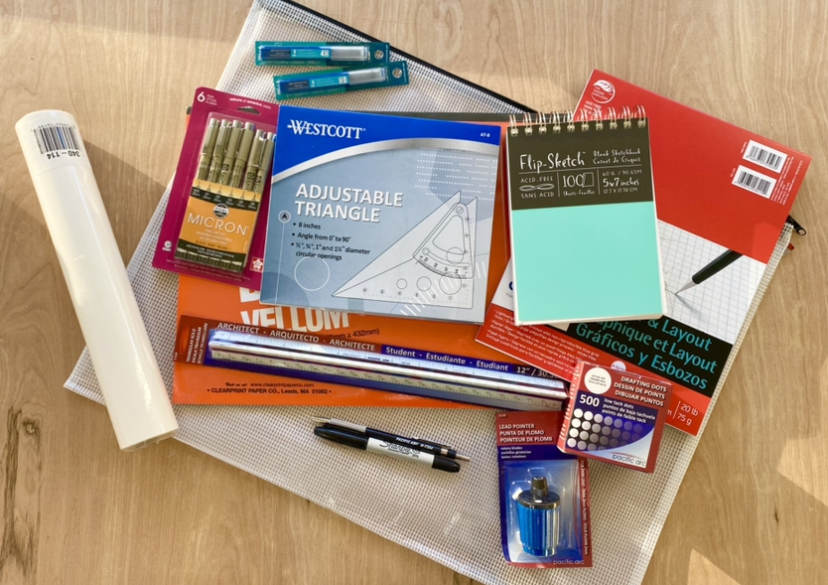 UNT ADES 2630 - Drawing for Interior Design Supply Kit