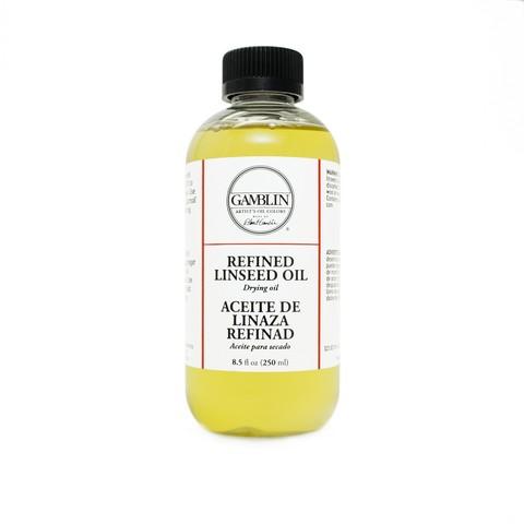 Gamblin Refined Linseed Oil, 4.2 oz.