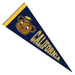Cal Bears Pennant 9x24 Oski with California