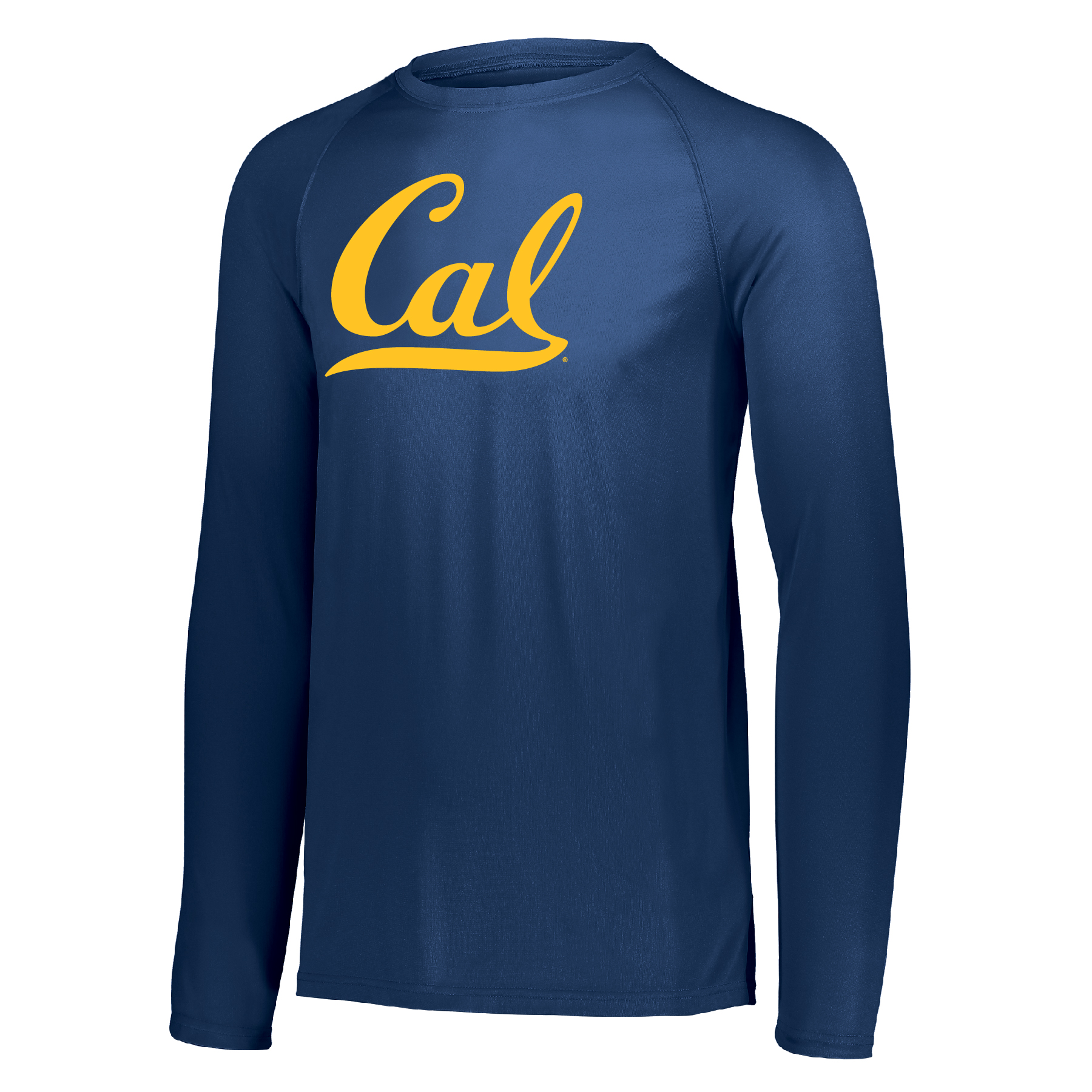 Men's Attain LS Tee Cal Logo