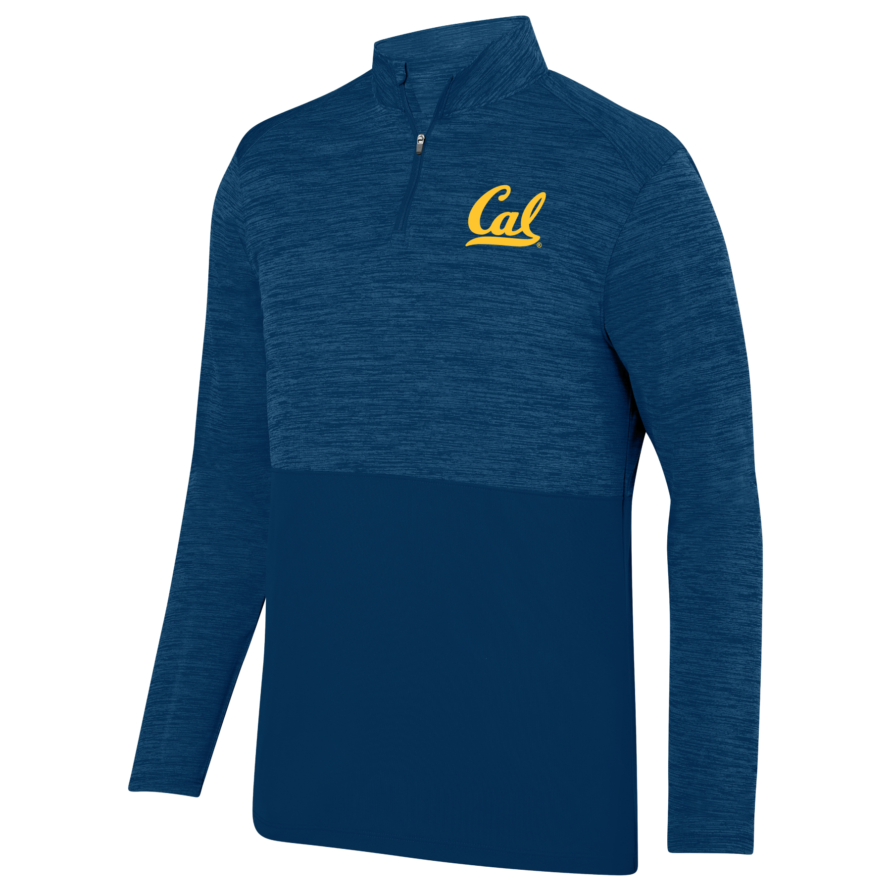 Men's Shadow Tonal Heather QZ Cal Logo
