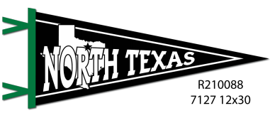 NORTH TEXAS STATE PENNANT