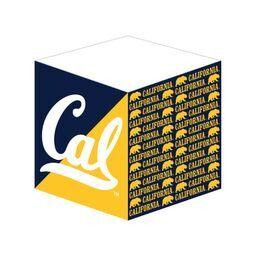 Cal Bears Post It Cube Cal Logo