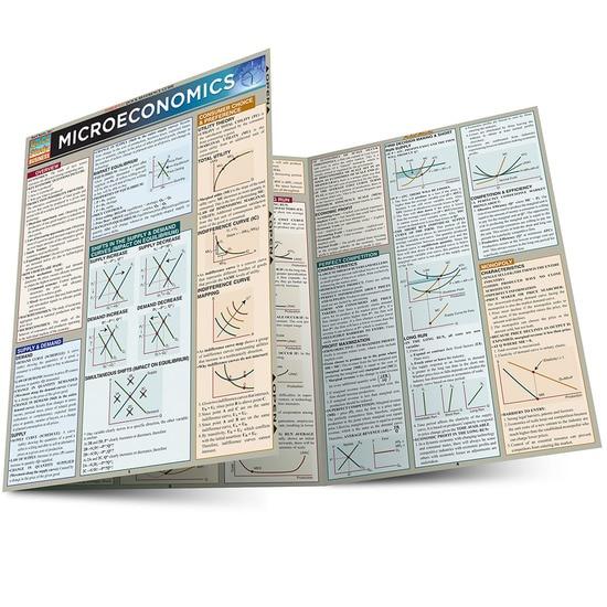 Microeconomics QuickStudy Laminated Study Guide