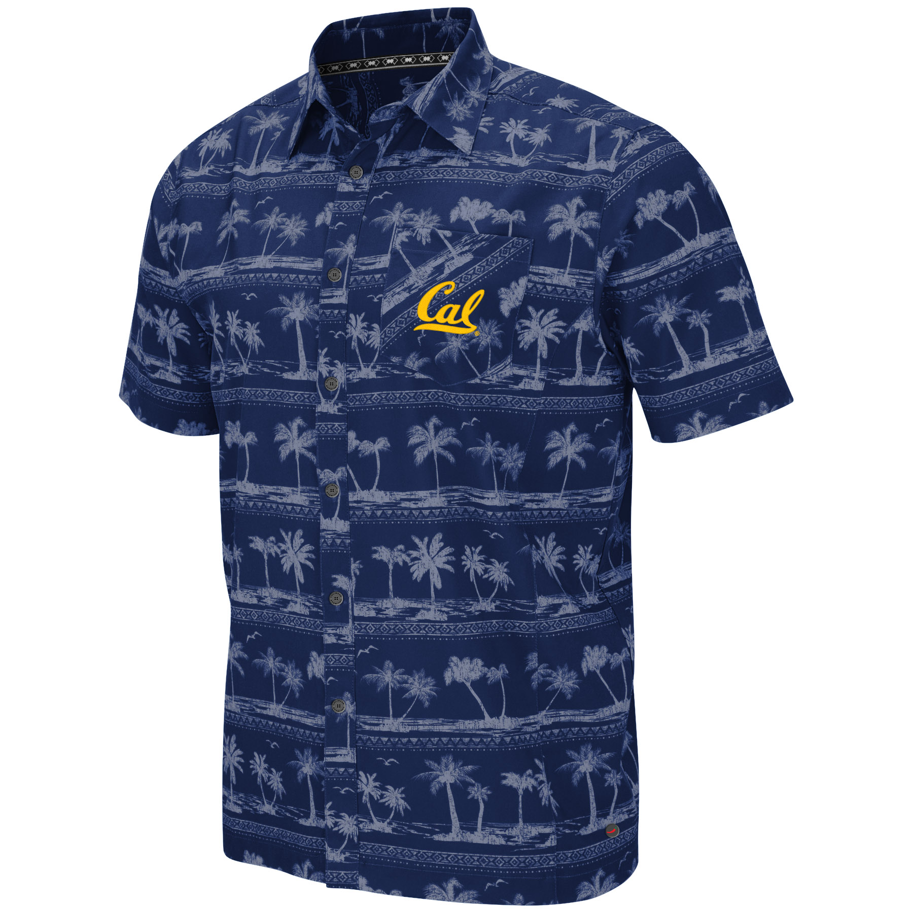 MD25-Cal Bears Men's Hilo Camp Shirt S19