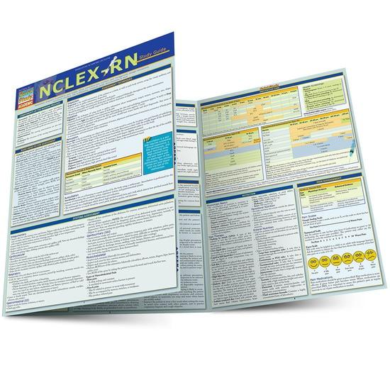 NCLEX-RN QuickStudy Laminated Study Guide
