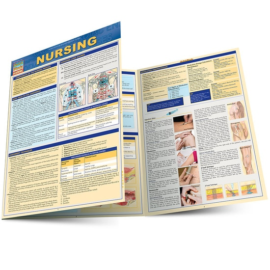 Nursing QuickStudy Laminated Study Guide