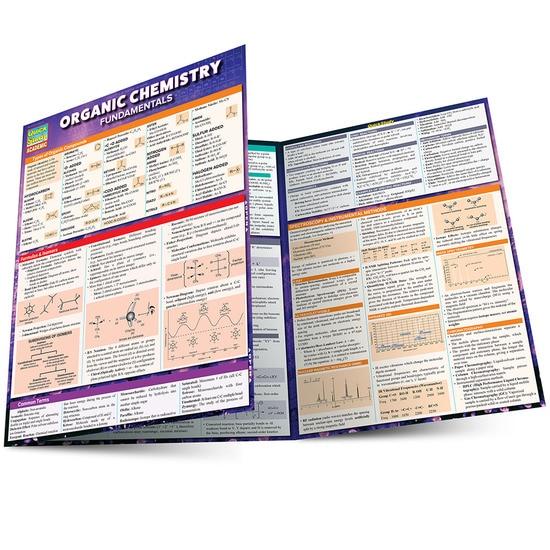 Organic Chemistry Fundamentals QuickStudy Laminated Study Guide