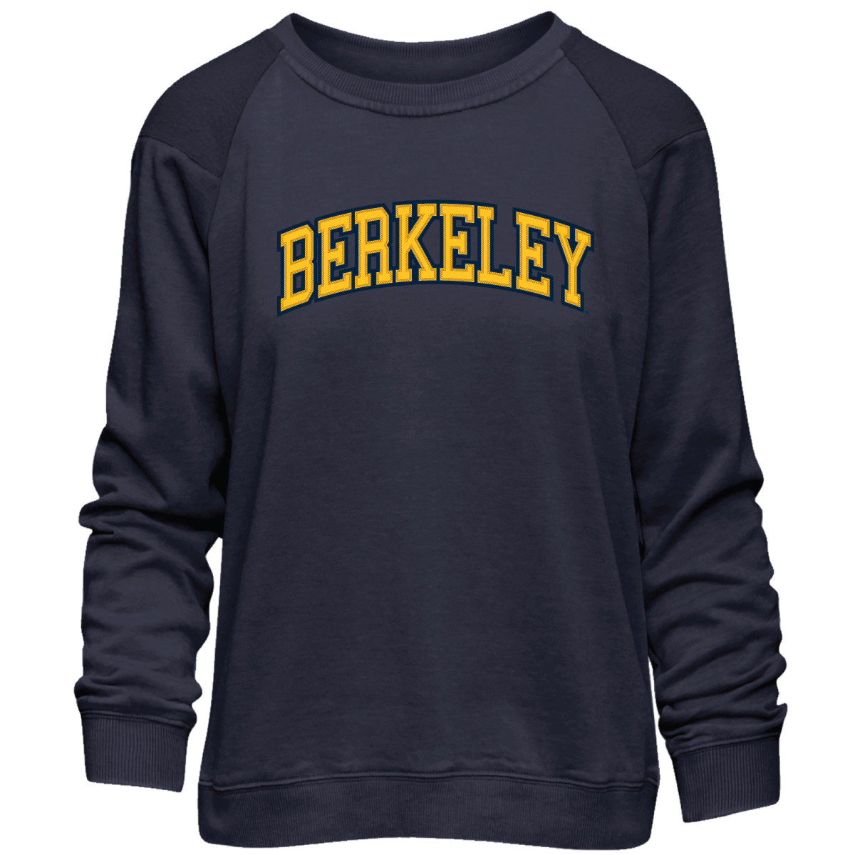 Cal Bears W Sunrise Crew Berkeley Applique