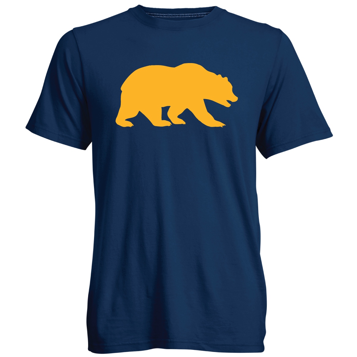 Cal Bears M Go To SS Tee Walking Bear