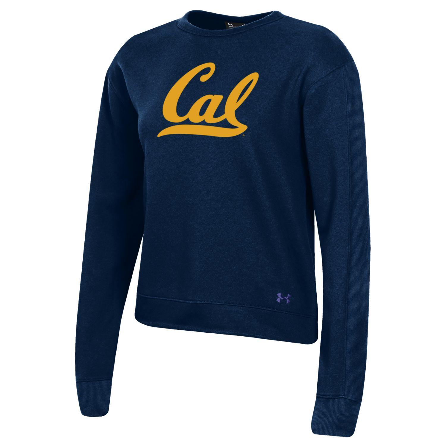 W All Day Crew Under Armour Cal Logo