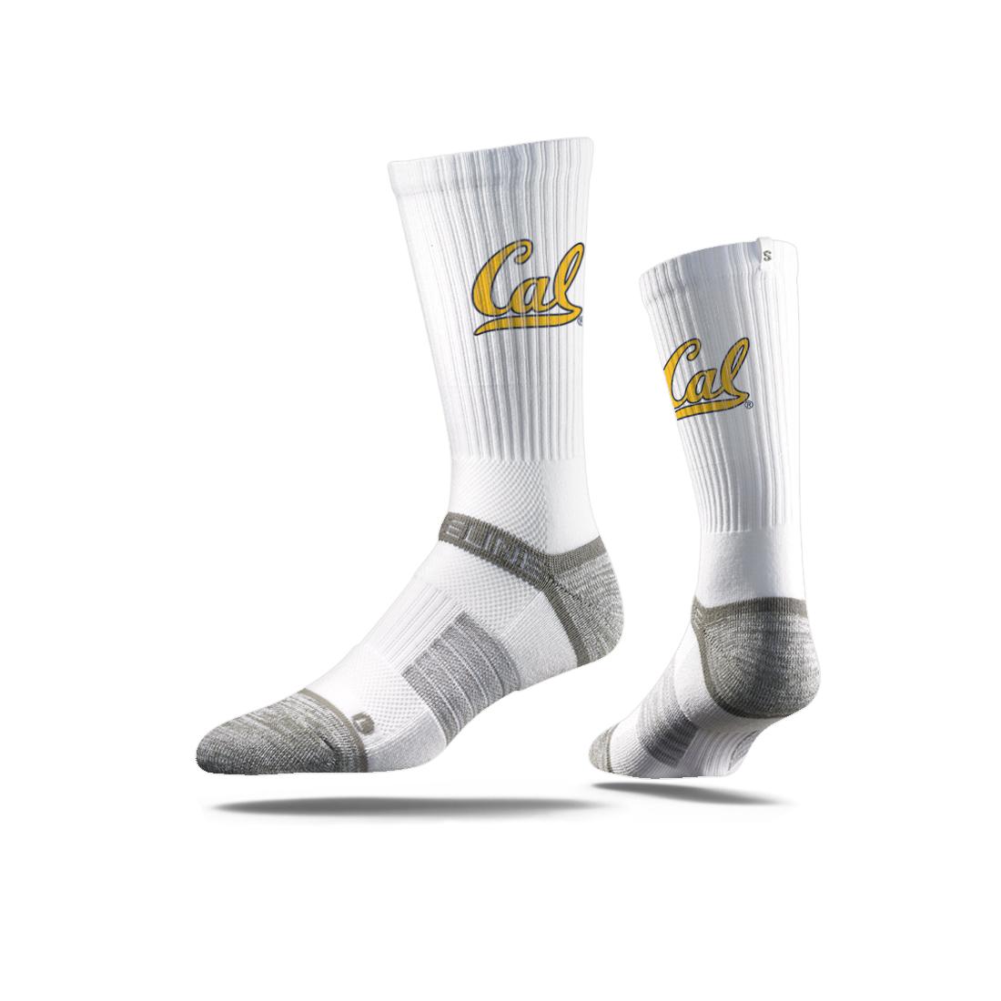 Strideline Sock Crew Cal Logo