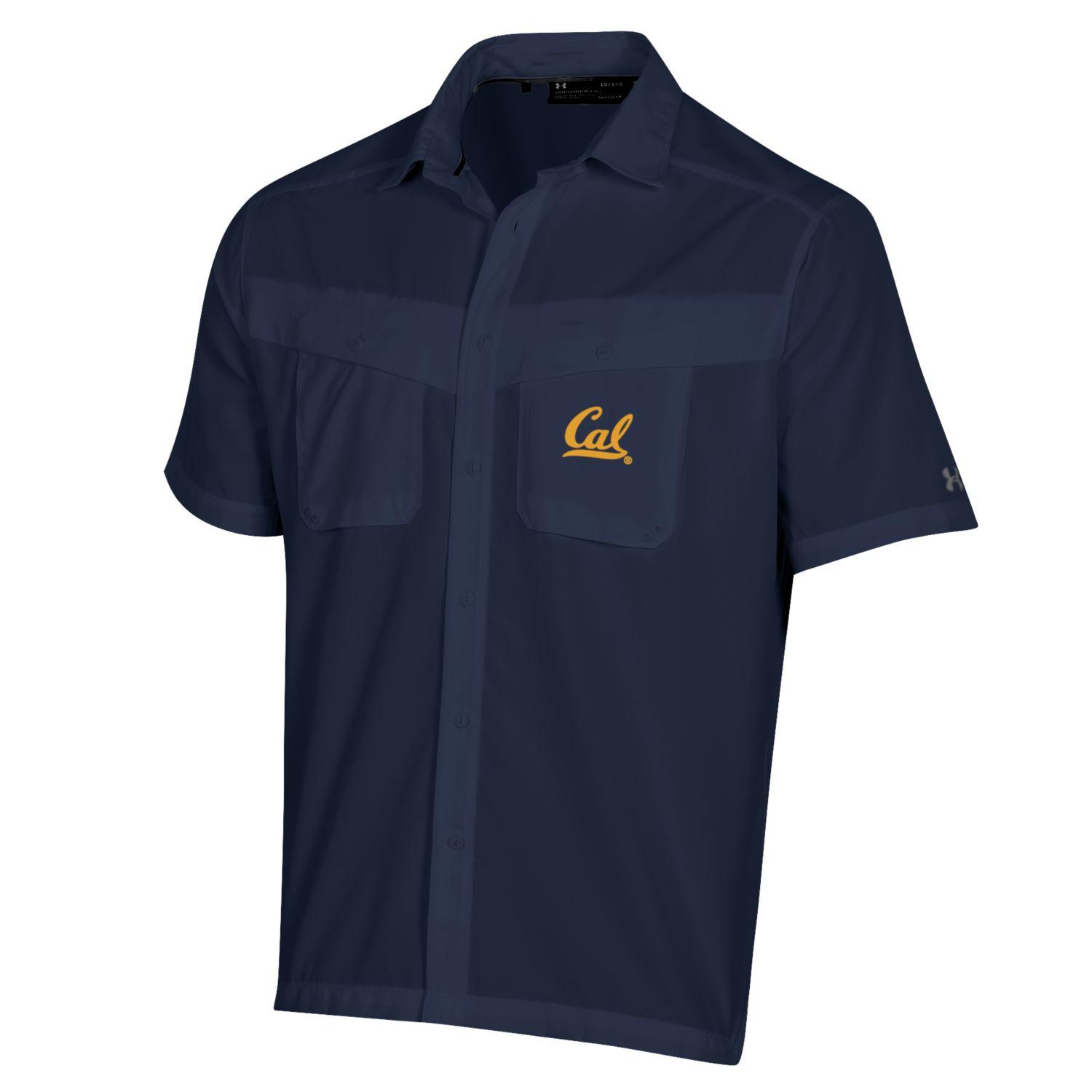 Cal Bears Men's Under Armour Tide Chaser SS Tee