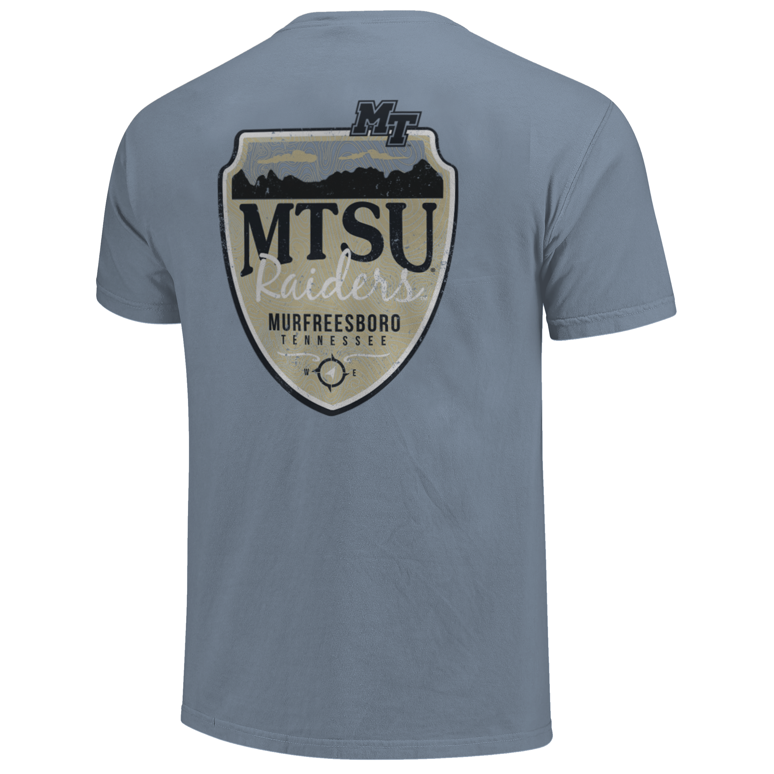 MTSU Raiders Mountain Shield Comfort Colors Shirt