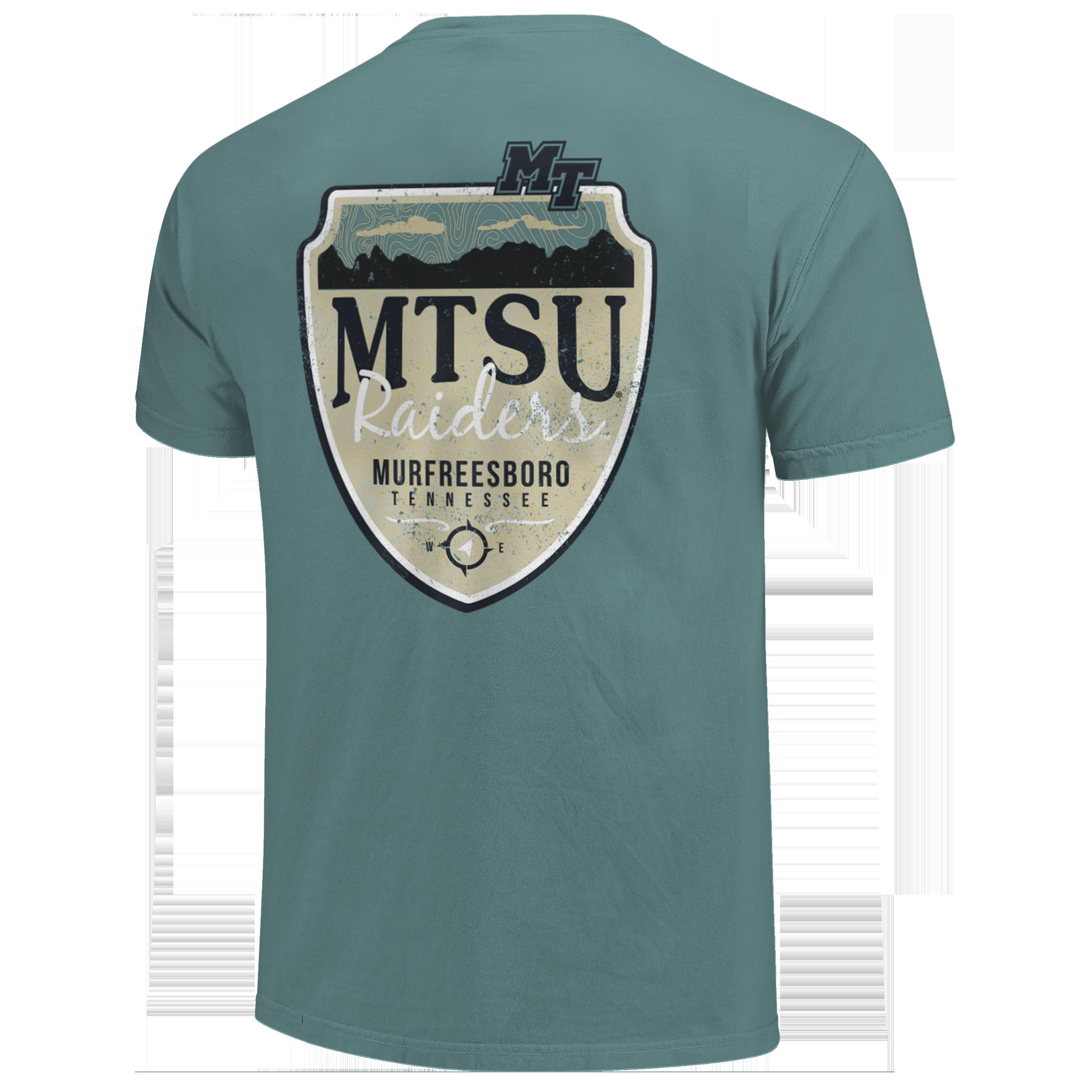 MTSU Raiders Mountain Shield Comfort Colors Shirt