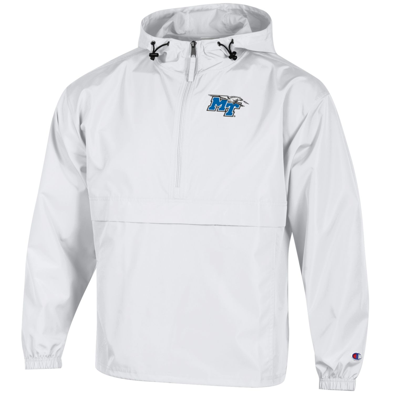 MT Logo w/ Lightning Pack N Go Rain Jacket