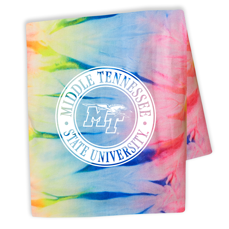 MT Logo w/ Lightning Fashion Sweatshirt Blanket