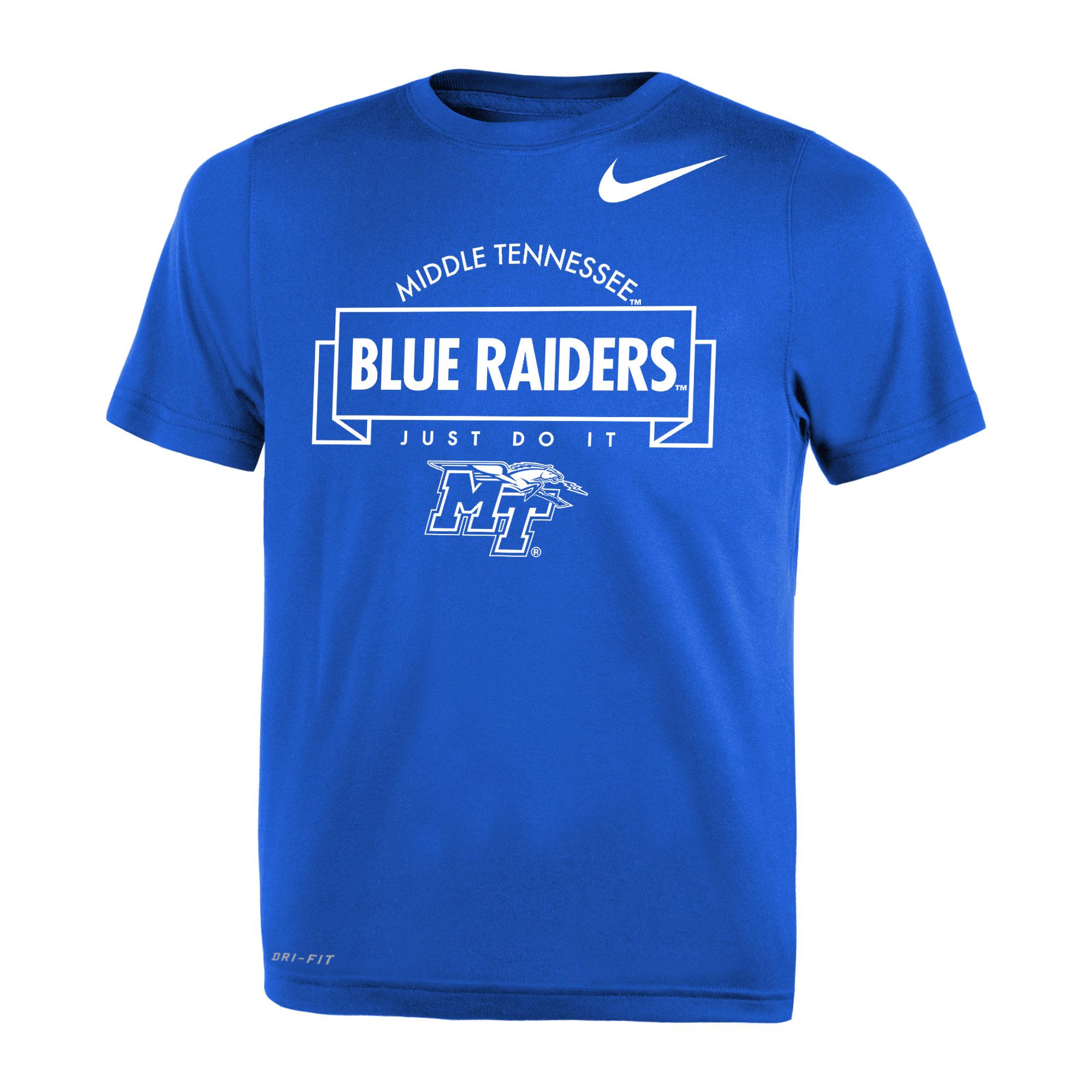 Middle Tennessee Blue Raiders Just Do It Nike® Preschool Legend Shirt