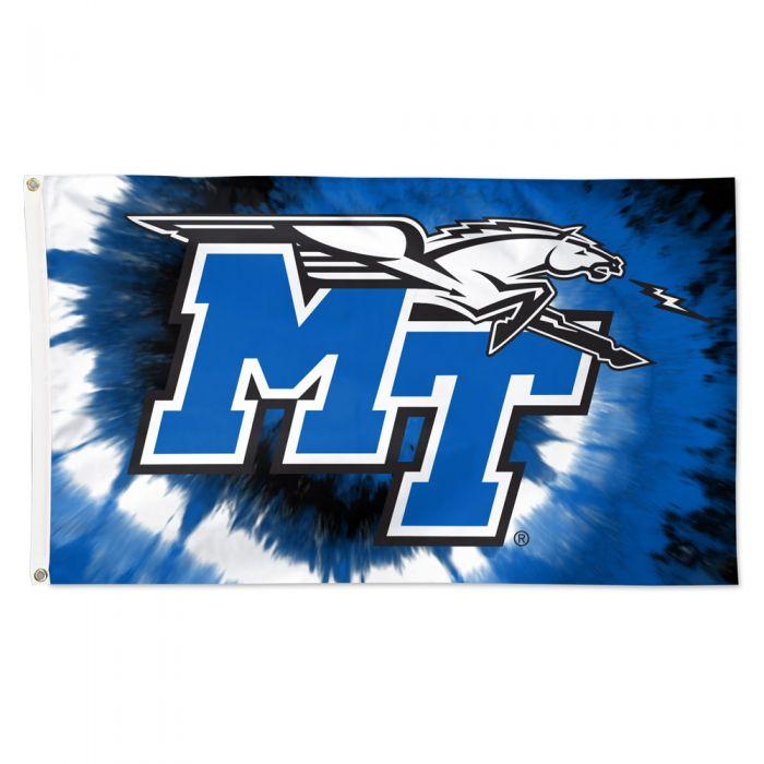 MT Logo w/ Lightning Tie Dye Deluxe 3'x5' Flag