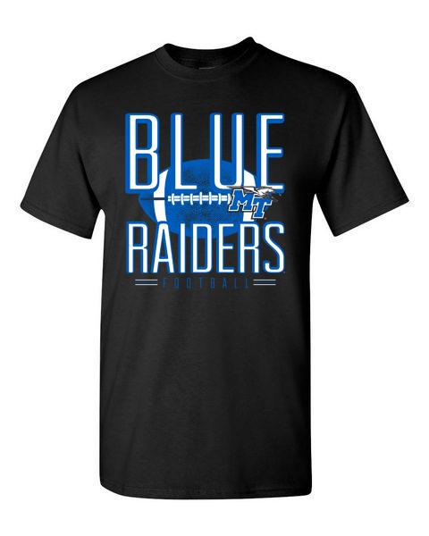 Blue Raiders Football Line of Scrimmage Tshirt