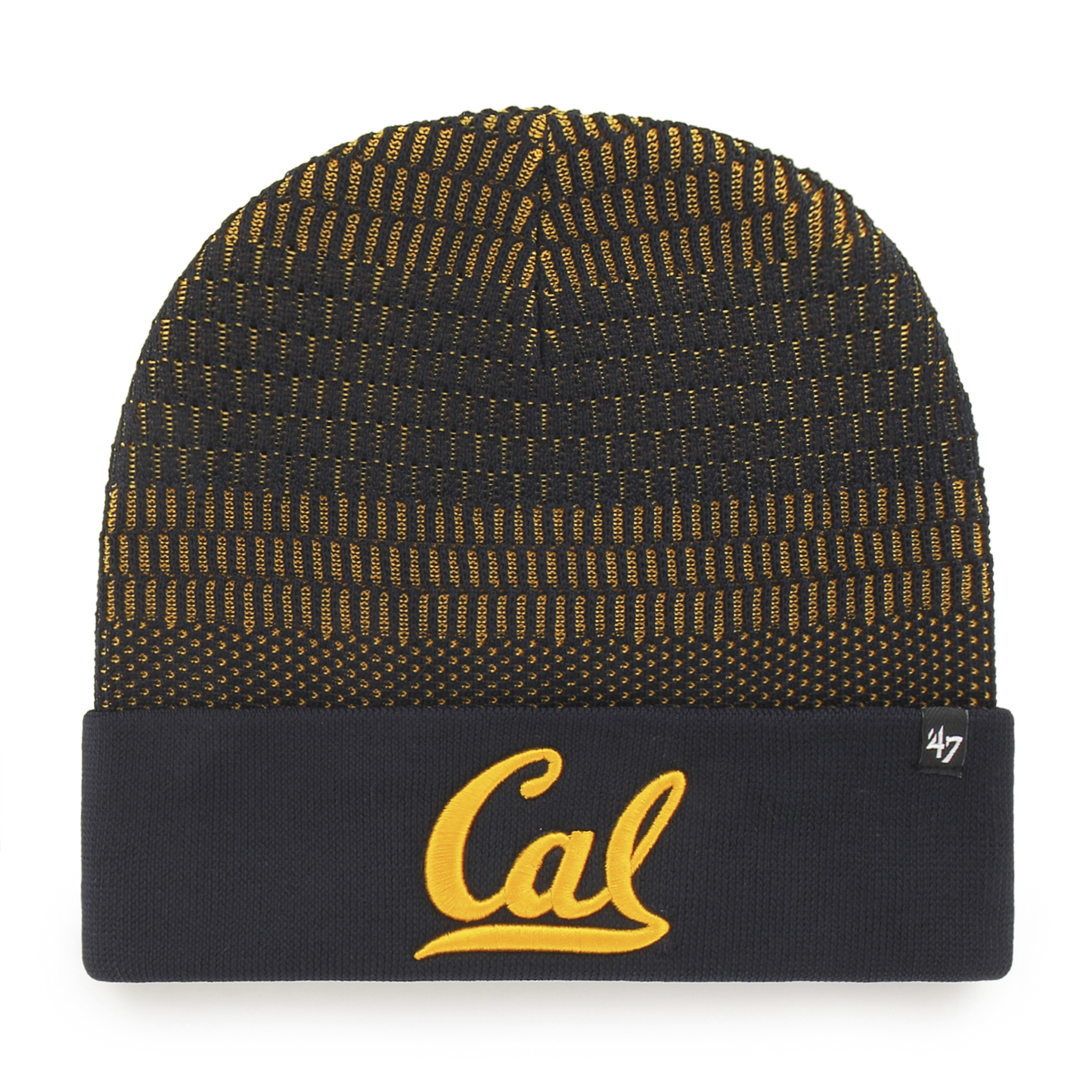 Cal Bears Warp Cuff Knit Beanie