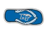"""MT Logo Flip Flop 12"""" Magnet"""