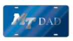 MT Dad License Plate