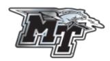 """MT Logo Chrome 6"""" Magnet"""