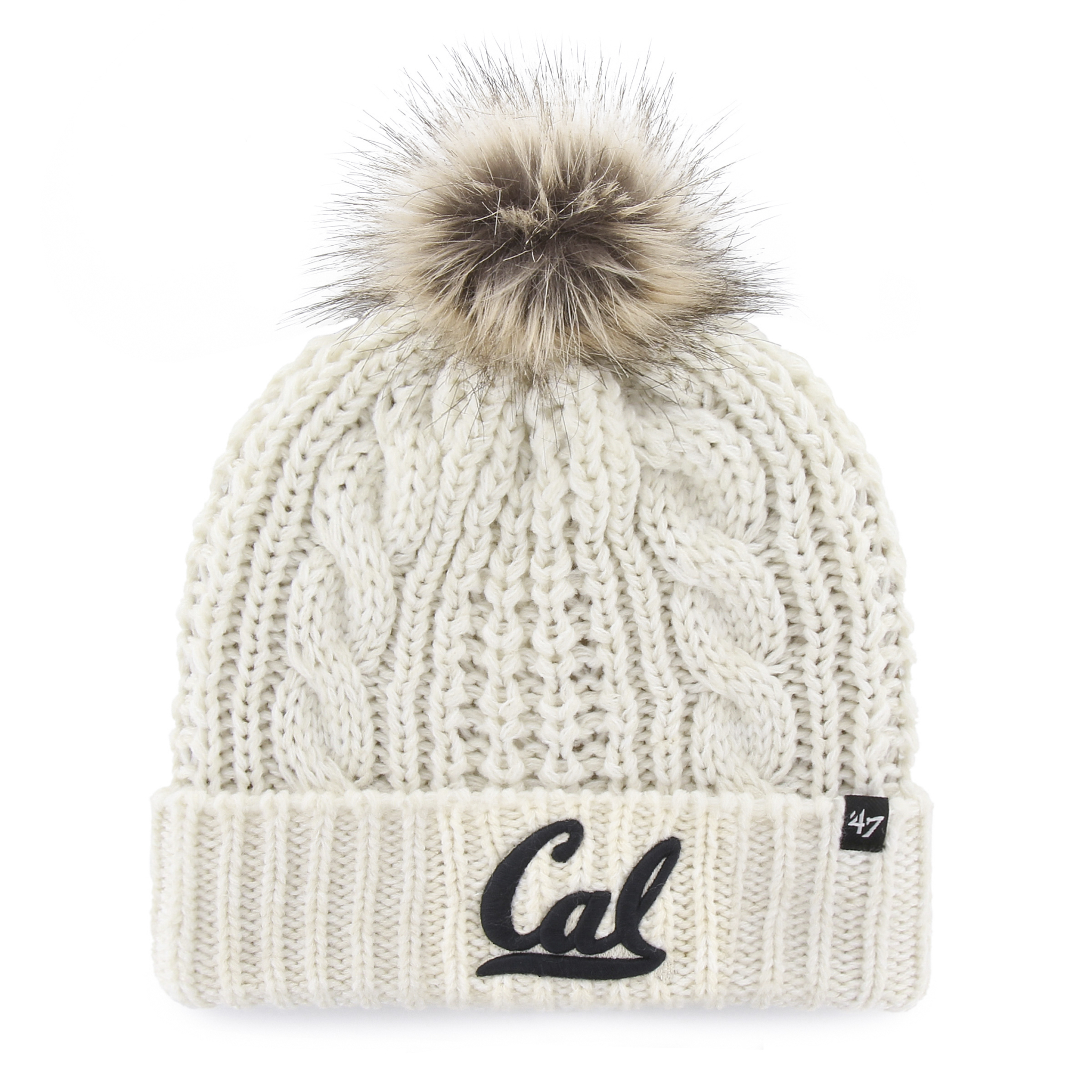 Cal Bears Meeko Cuff Knit with Pom