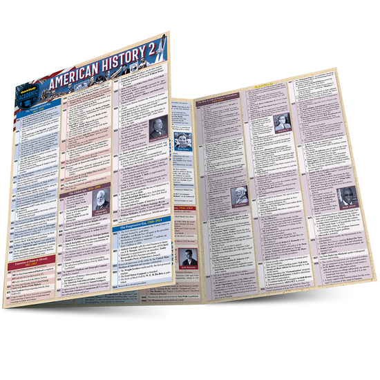 American History 2 Laminated Study Guide