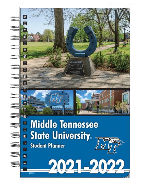 MTSU 2021-22 Student Planner