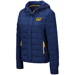 Cal Bears W Skipper Puffer Jacket