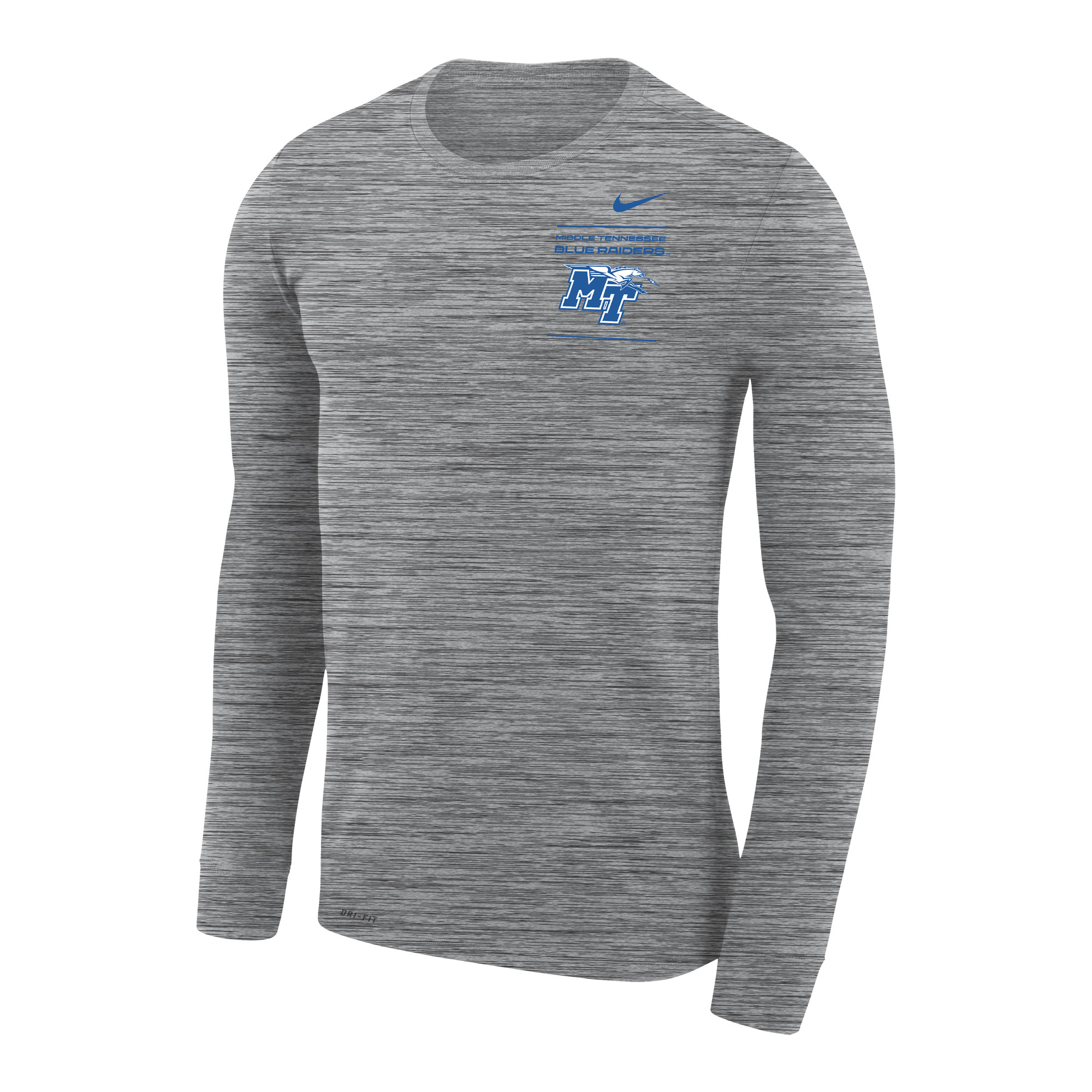 Middle Tennessee Blue Raiders Legend LS Velocity Nike® Shirt